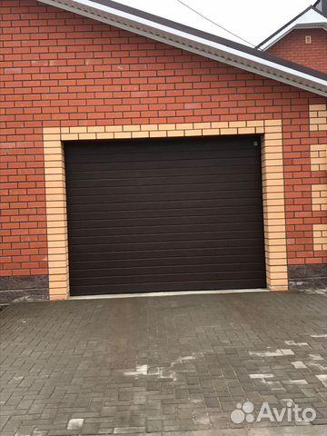 Автоматические гаражные секционные ворота 89177444999 купить 1