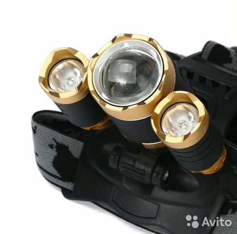Налобный фонарь Boruit купить 5