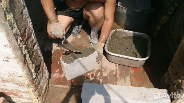 кладка пеноблока своими руками на цементный раствор