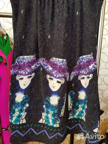 Платье подростковое трикотаж 40/44  купить 6