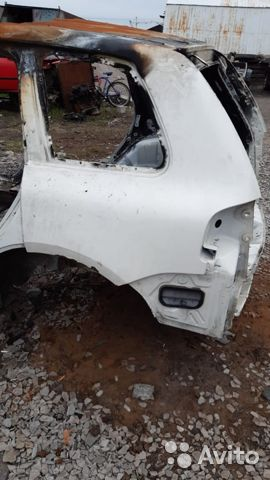 89657347629 Крыло заднее левое (Volkswagen Touareg)