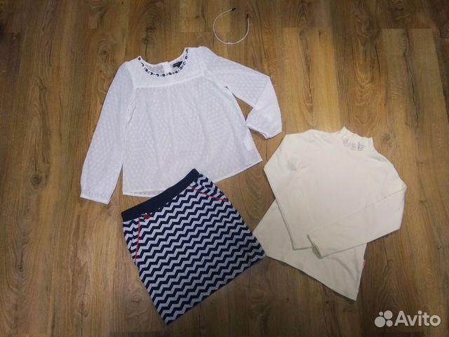 Блузка M&S на 8-10 купить 2