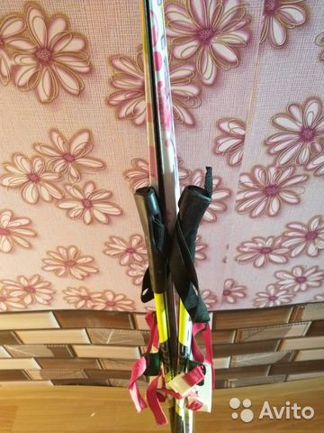 Barn skidor