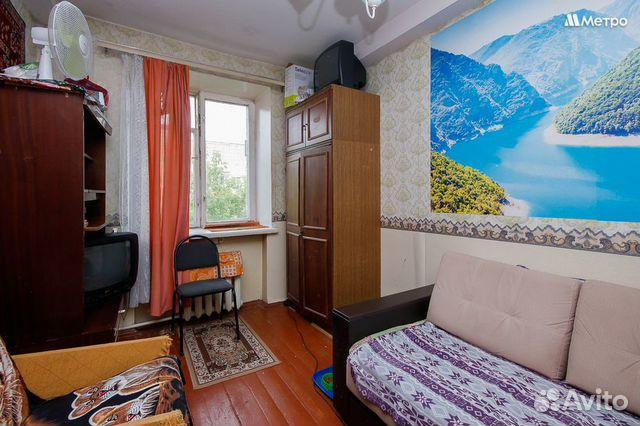 Комната 13 м² в 6-к, 4/4 эт.