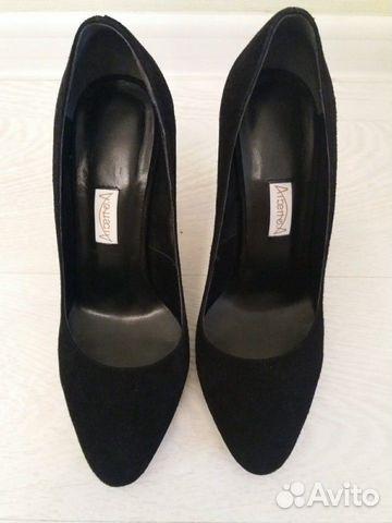 Туфли новые натуральная замша 89027802361 купить 2