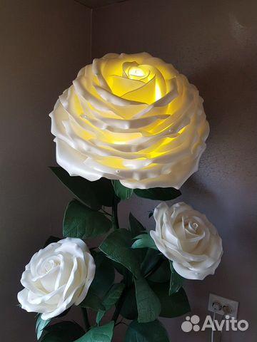 Торшер Ростовые цветы Роза  89009049190 купить 4