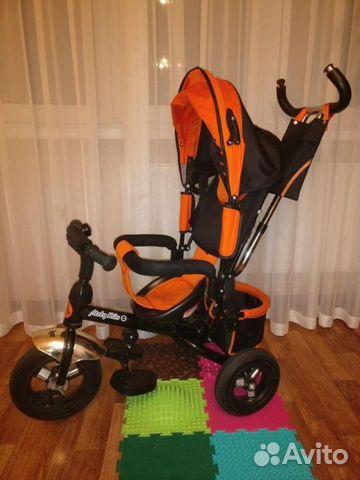 Велосипед детский трехколесный Moby Kids Comfort 2