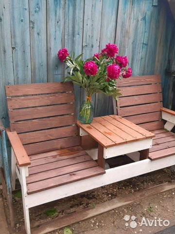 Лавка садовая деревянная  89378211314 купить 4