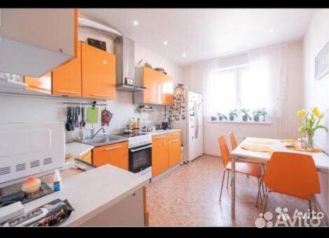 3-к квартира, 75.5 м², 9/25 эт.