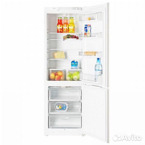 Вместительный двухкамерный холодильник atlant 4724