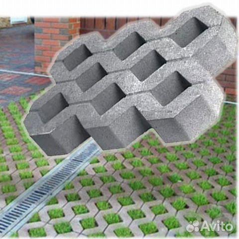 Экопарковка бетон купить фибробетон изделия на заказ