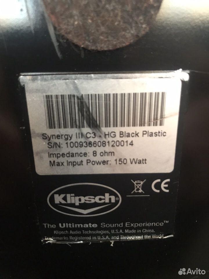Klipsch Synergy III продам центральный канал в иде  89097358345 купить 5