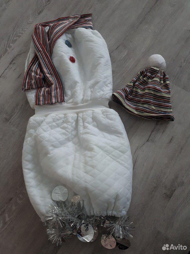 Костюм снеговика. прокат  89004900730 купить 1