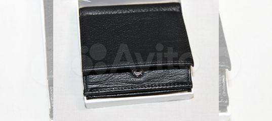 7b4f9e63d95d Мужской кожаный кошелек Montblanc компактный купить в Москве на Avito —  Объявления на сайте Авито