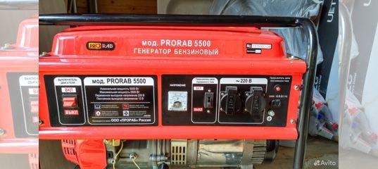 Генератор бензиновый прораб 5500 сварочный аппарат eac