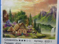 Картина по номерам Дом в лесу