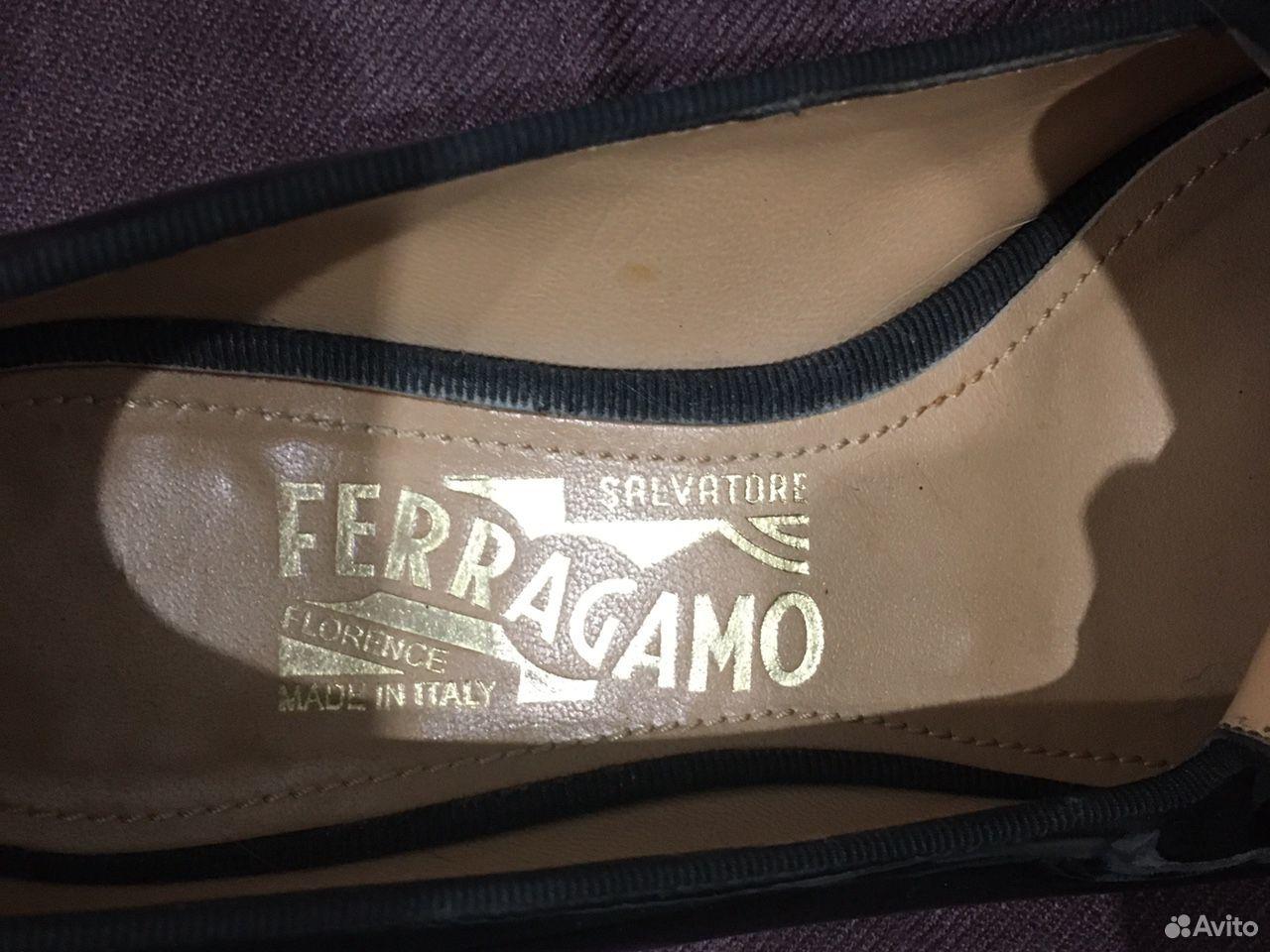 Слипоны кожаные salvatore ferragamo
