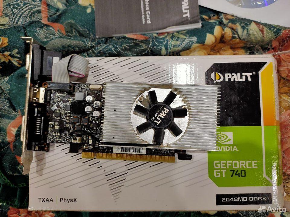 Продам видеокарту GT 740 (2GB DDR3)  89648605545 купить 3
