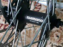 Колесо на втулке shimano alivio 26