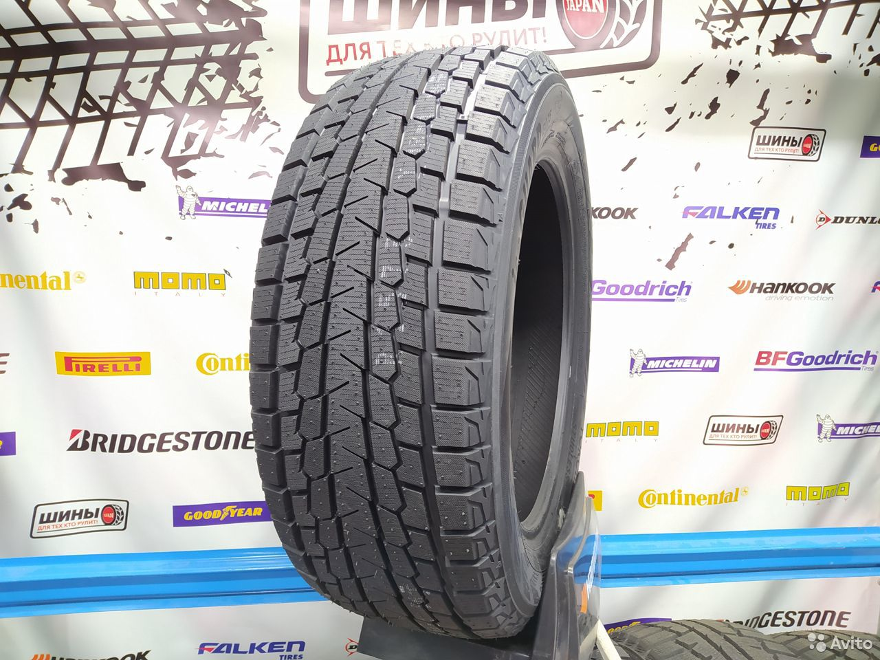 Зимние шины 235/55R18 100Q Yokohama Ice Guard G075  89941077322 купить 1