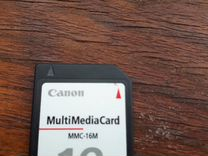 Карта памяти Multimediacard mmc-16m Canon
