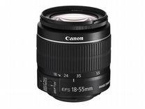 Canon EF-S 18-55mm IS II (со стабом) новый