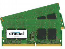 Ноутбучная оперативная память ddr4 4gb новая 2шт