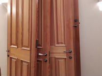 Двери межкомнатные (массив сосны) высотой 220см — Ремонт и строительство в Москве