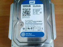 HDD WD Blue на 500gb