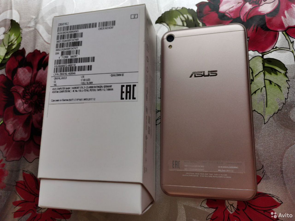 Asus zenfone live zb501kl  89656356363 купить 2