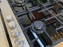 Варочная панель газ на стекле