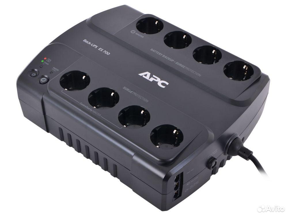 Ибп APC Новый Back-UPS ES 700VA 404Вт 2шт