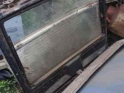 Крышка багажника москвичь 2141 со стеклом