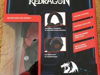 Игровые наушники redragon aspis