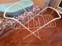 Подставка под ванну + ванночка + стульчик для купа