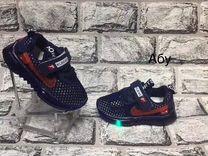 Новые кроссовки светящиеся 28-29
