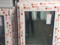 Пластиковые окна б/у 755х1009 мм