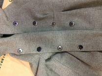Драповое пальто для беременных Италия