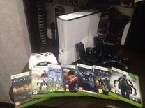 Xbox 360 + 7 games