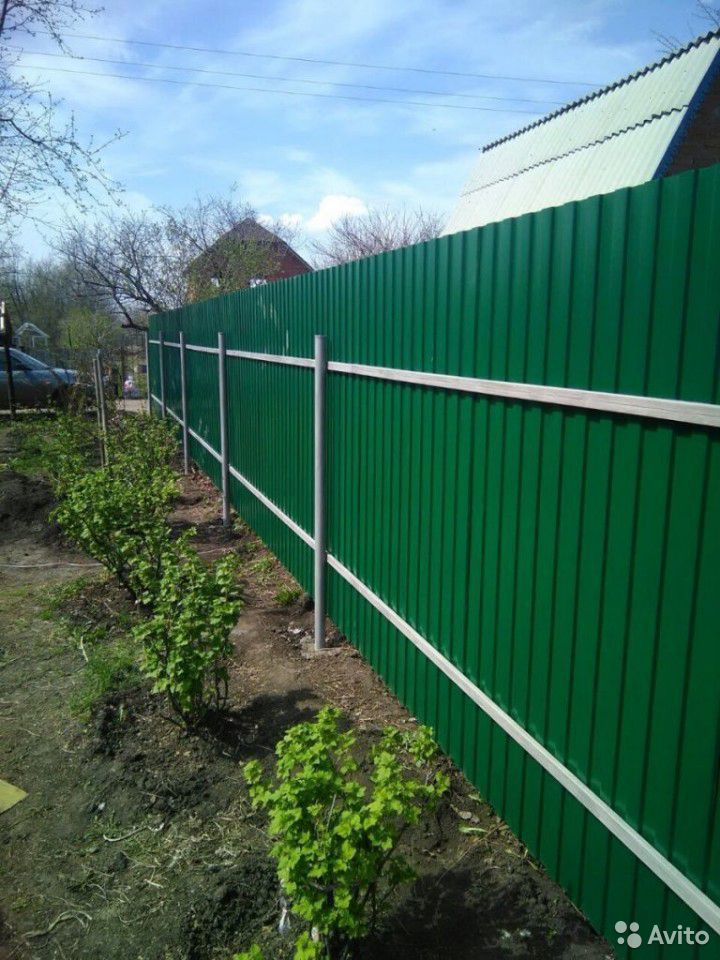Сделаем забор, ворота из профнастила  89088373003 купить 2