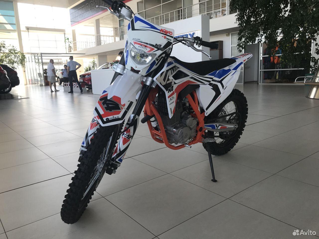 Мотоцикл kayo K4 MX 21/18 (2020 г.)  88792225000 купить 2