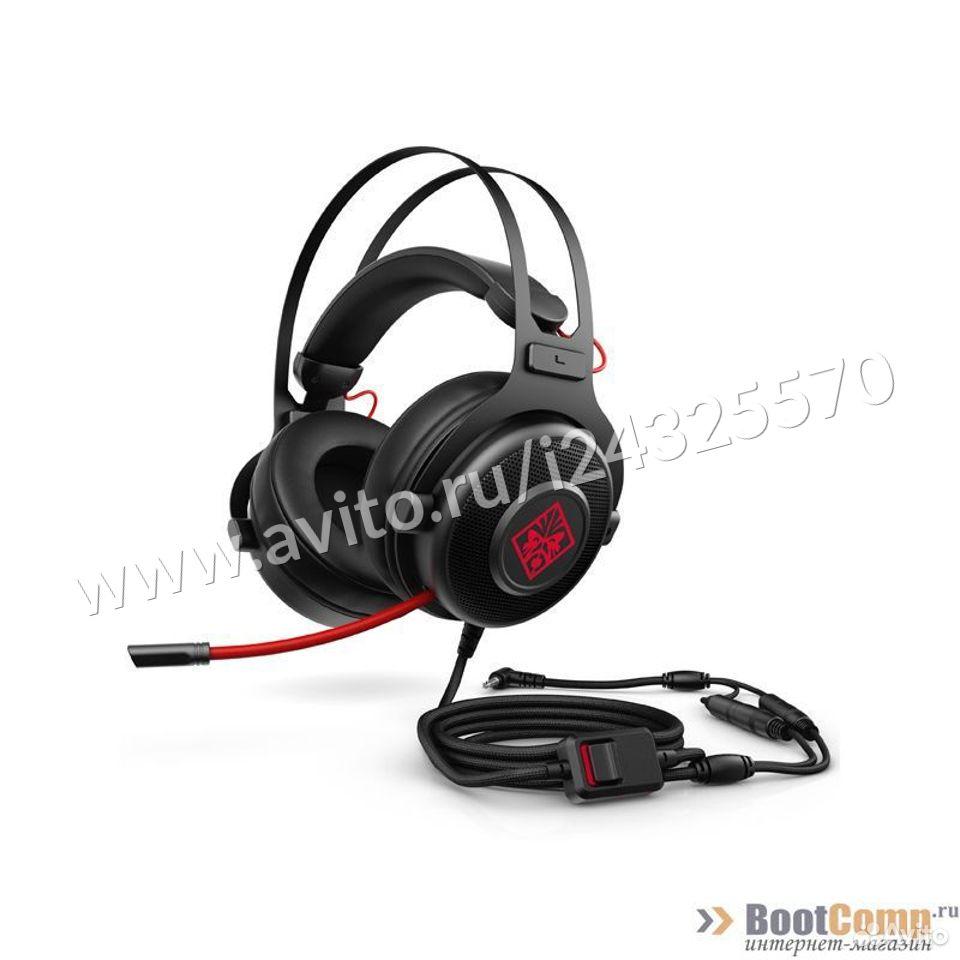 Игровые наушники с микрофоном HP omen 800  84012410120 купить 1
