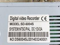 Регистратор видеонаблюдения 4 канала SD-6004S на ч