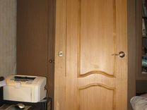 Дверь межкомнатная шпон дуб светлый (60*200 см.)