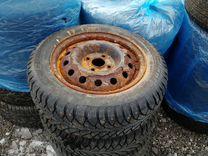 Колеса зимние 14 радиус — Запчасти и аксессуары в Перми