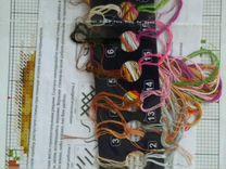 Схема для вышивки Ежик в ромашках с остатками нито — Коллекционирование в Екатеринбурге