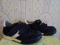 Ботинки кожа на коже 16,3см стелька Италия