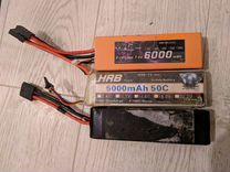 Аккумуляторы 2S 3S Li-Po для Traxxas