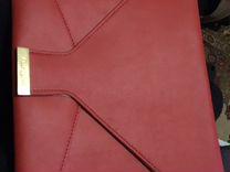 Папка-чехол (кожа) для Макбук до 13.3 и ноута