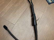 Новая плетка нагайка кубанская Из кожи holister